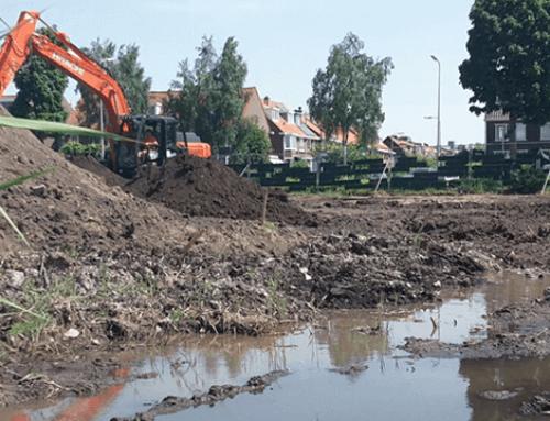 Braakliggend terrein Zwijndrecht getransformeerd tot bouwgrond