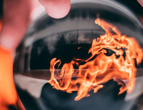 Brandweer waarschuwt voor tuinbranden door onkruidbranders