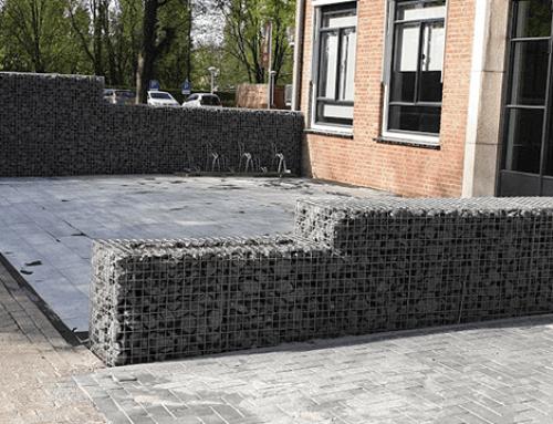 Infrastructureel werk rond kantoorpand in Dordrecht