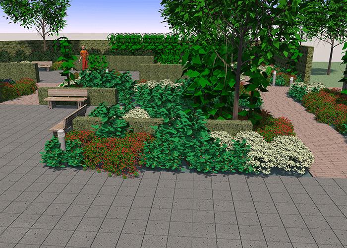 3D-tuinontwerp