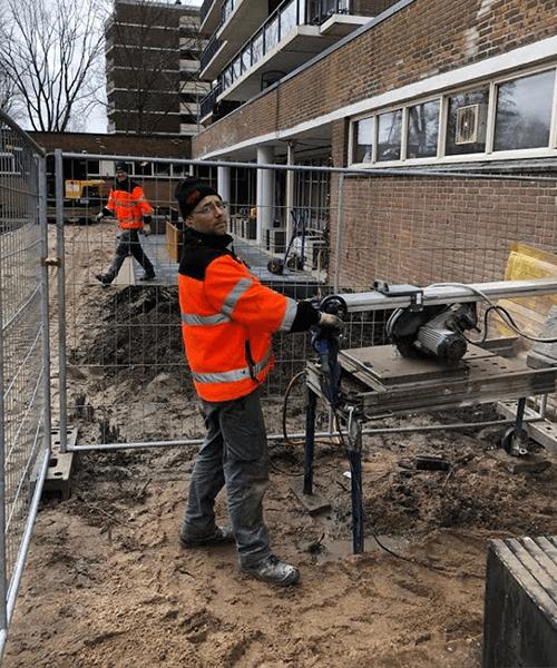 Tuinontwerp Joliottoren Rotterdam